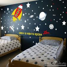 Boys Wall Decals By Decal Ideas Wall Decals For Kids Playroom Space Themed Bedroom Space Wall Decals Boys Wall Decals