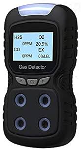 Gas Detector, Rechargeable Portable 4 in 1 Gas Clip 4-Gas Monitor Meter  Tester Analyzer Sound Light Shock: Amazon.com.au: Home Improvement