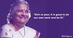 profound quotes by sudha murthy that are all the life lessons