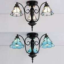 cone dining room ceiling lamp glass 3