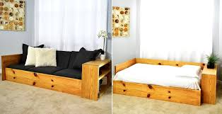 how to build space saving sofa bed for
