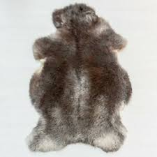 genuine herdwick sheepskin rug unique