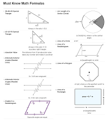 math formulas studying math sat math prep