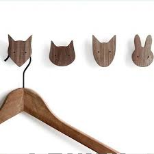 Cheap Hook Wood Buy Quality Wood Hanger Kids Directly From China Wooden Wall Hangers Suppliers Newest Design Boys Wood Animal Animal Hooks Children Room Girl