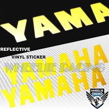 Pair 5 5 Fender Fuel Tank Sticker Reflective Logo Vinyl Decal For Yamaha Blue Archives Midweek Com