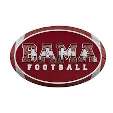 Bama Football Circle Vinyl Decal University Of Alabama Supply Store