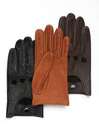 triumph leather driving gloves