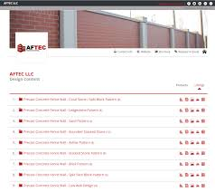 Precast Concrete Fence Wall Specifications