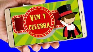 Circo Video De Invitacion O Cumpleanos De Para Whatsapp O Redes
