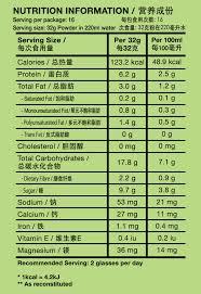 nutritious black soy milk powder
