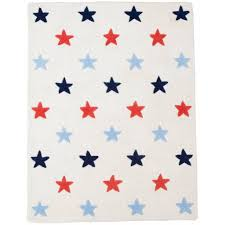 Boys Stars Rug Red Blue Fun Rooms For Kids