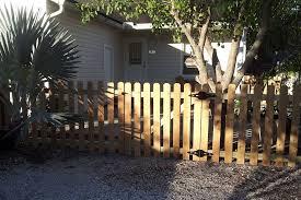 Wood Fences Port Charlotte Fl Cypress Fence Installation Sarasota Fl