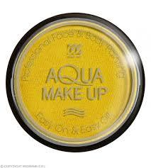 aqua makeup 15g yellow makeup