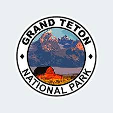 Amazon Com Fagraphix Grand Teton National Park Sticker Self Adhesive Vinyl Decal Wyoming Jackson Hole Hike Camp Wilderness Automotive