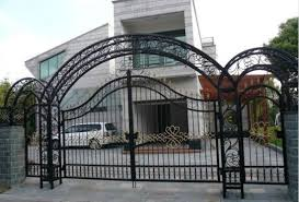 decorative wrought iron security