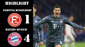 Fortuna Dusseldorf vs Bayern Munich | 1 - 4