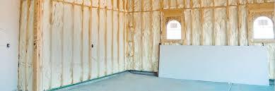 insulate a garage with foam insulation