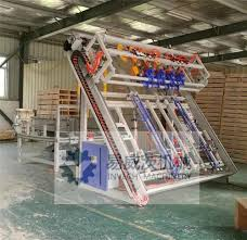 us stringer pallet nailing machine with