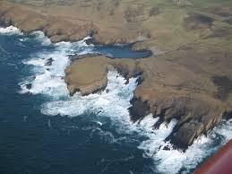 Coastal erosion on Orkney