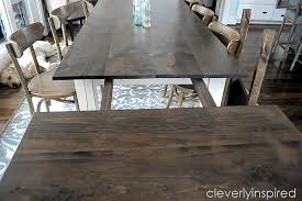 farmhouse dining table with extensions