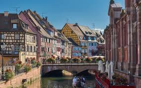 تحميل خلفيات كولمار الفرنسية الجميلة المدينة الصيف قناة