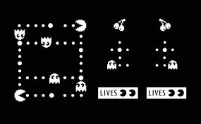 Pacman Decal Set Azvinylworks
