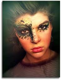 masquerade face paintings