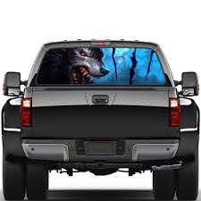 Auto Products Wolf Totem Rear Window Graphic Decal Sticker Decal Tint Sticker For Car Truck Suv Car Stickers Aliexpress