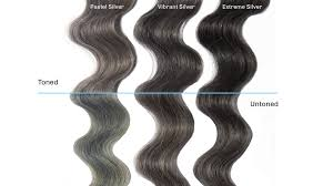 silver hair cancel out green or blue