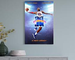 Space Jam Poster Etsy