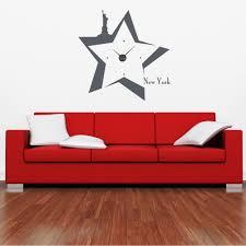 Shop New York Wall Clock Vinyl Decor Wall Art Free Shipping Today Overstock 11546082