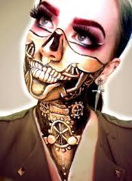 steunk robot makeup makeup
