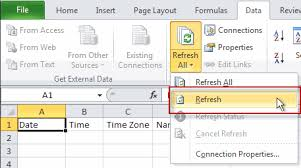 importing text files into excel sheets