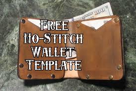 free no stitch wallet template maze