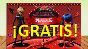 Invitacion Imprimible Miraculous Ladybug Gratis Impresiona A