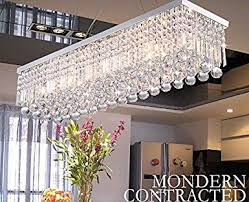 crystop rectangle crystal chandeliers