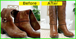 how to clean leather shoes and boots at