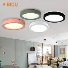 aibiou simple led ceiling lights modern