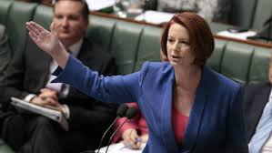 Transcript of Julia Gillard's speech ...