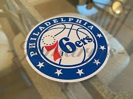 Philadelphia 76ers Sticker Decal Vinyl Nba Here Come The Sixers Trust Process 3 99 Picclick