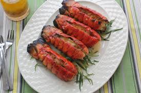 Grilled Lobster Tails with a Ruby Red ...