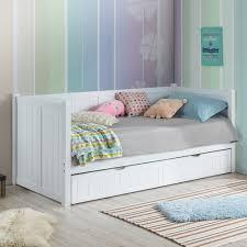 vic furniture hamptons white single