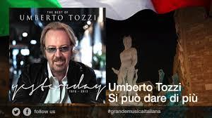 Umberto Tozzi - Si può dare di più - YouTube