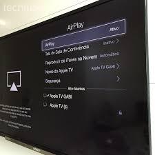 tela do mac na tv usando uma apple tv