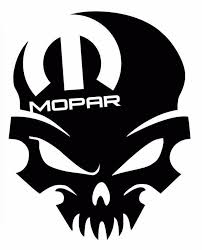 Mopar Skull Dodge Window Decal Sticker Mopar Mopar Truck Stickers Car Decals Vinyl