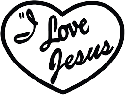 Amazon Com Susie85electra I Love Jesus Decal Play On I Love Lucy I Love Jesus Bumper Sticker Christian Car Decal Home Kitchen