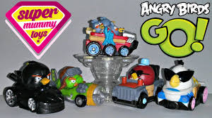Angry Birds Go Telepods Deluxe Kart Pack Toy Review - YouTube