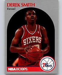 Amazon.com: 1990-91 Hoops Basketball #231 Derek Smith SP Short Print  Philadelphia 76ers: Collectibles & Fine Art