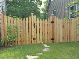Gothic Wood Fencing Products Phillips Outdoor Services Onalaska Wi