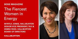 """Halliburton - Myrtle Jones and Debra Reed named among """"The ..."""